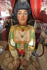 Gypsy fortunetelling machine