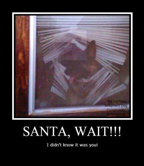 Wait santa