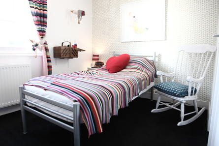 Knitted room hotel pelirocco