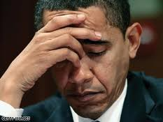 Worried obama