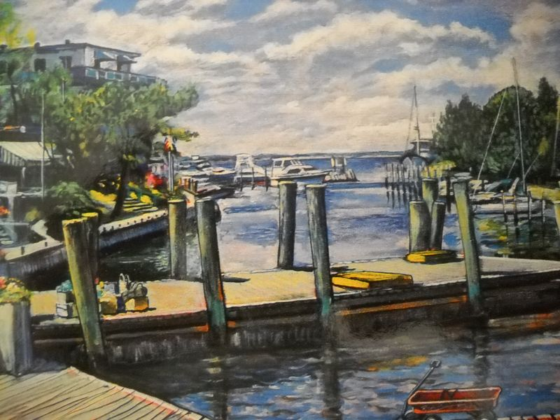 Fire Island Pines Ferry Dock