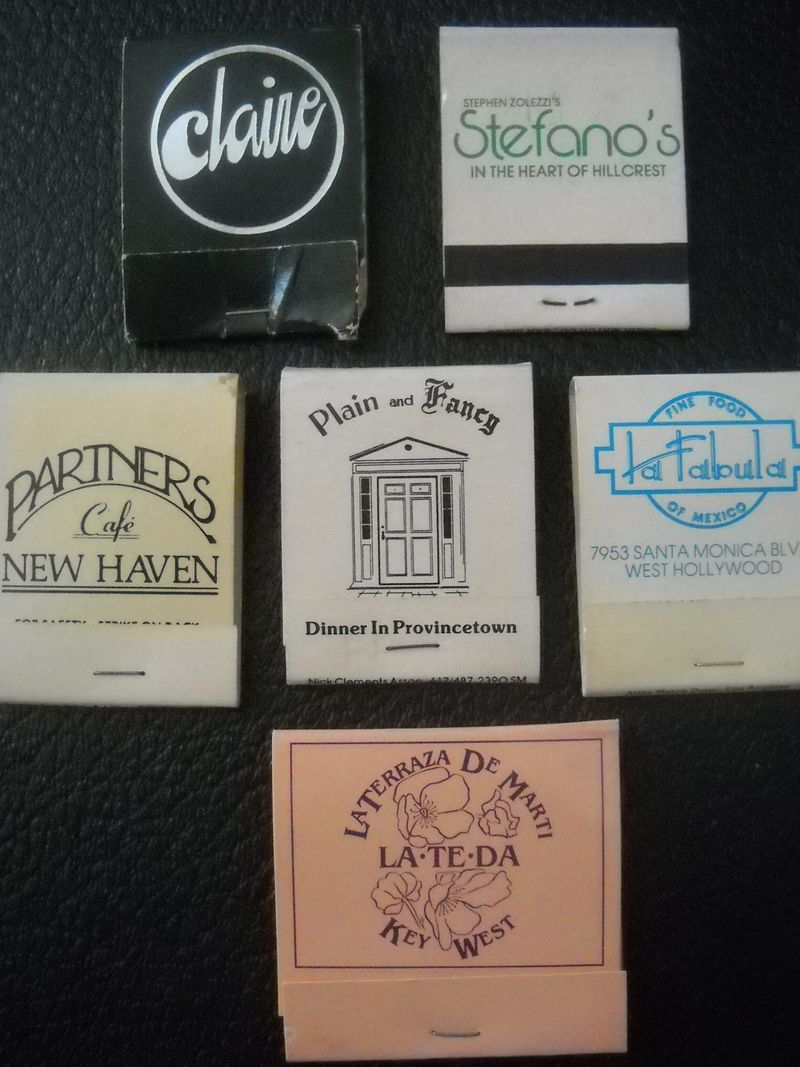Matchbooks_Restaurants