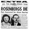 Rosenbergs.newspaperheadline