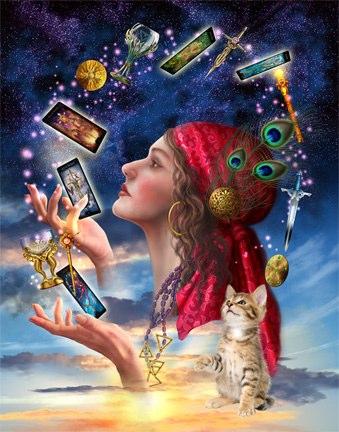 Tarot reader 1