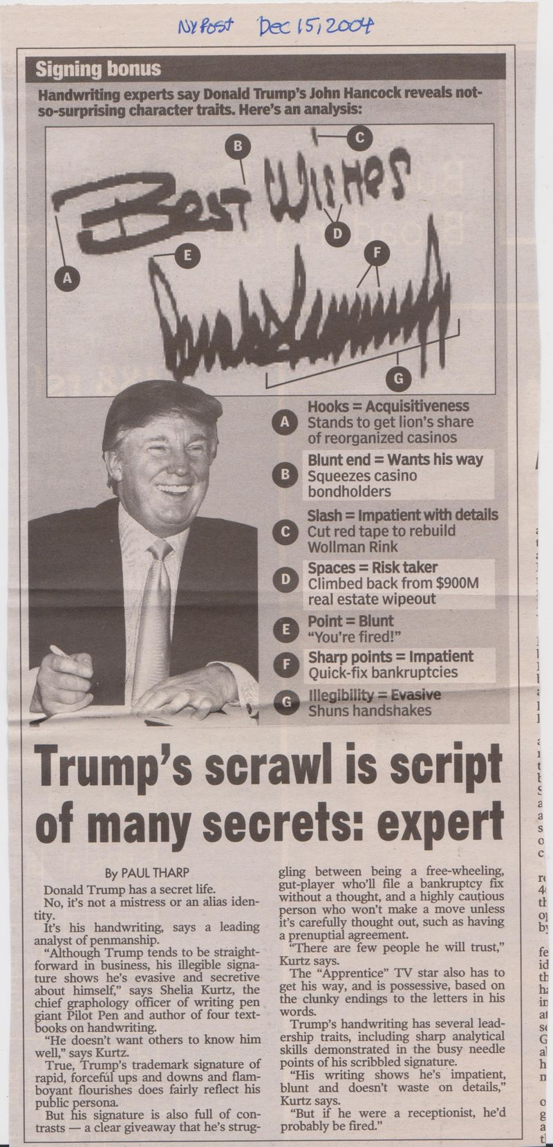 Trump handwriting 001
