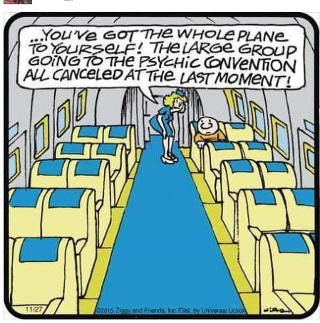Psychic humor