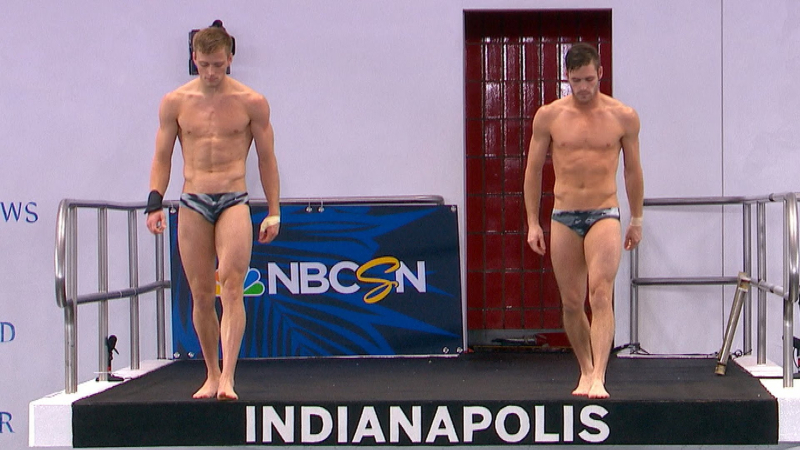 Boudia and johnson divers