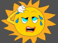 Clipart_sweatingsun