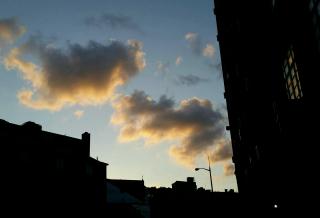 Sheridan sq sunset