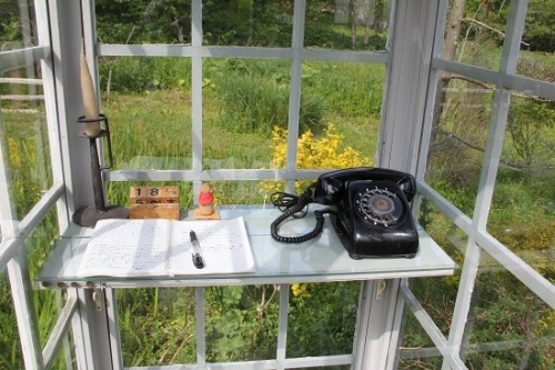 Wind telephone