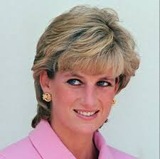 Princess diana in pink