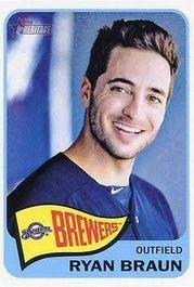 Ryan braun baseball card
