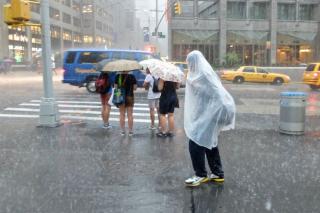 Rain slicker