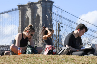 Warmest february on record in new-york-city