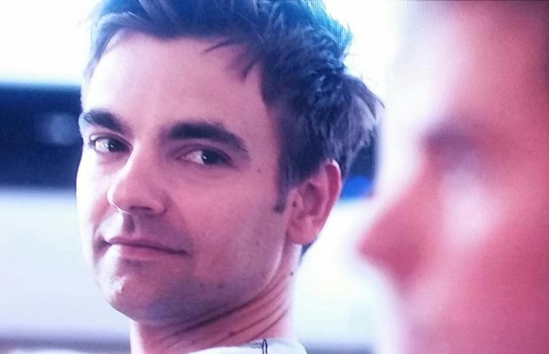 Cary's glance