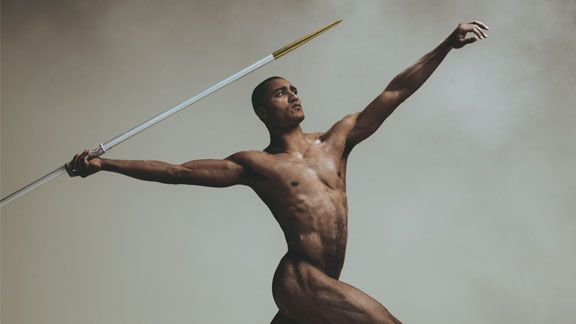 Espn body issue - ashton easton decathlete