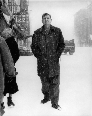 W h auden during march 3 1960 snowstorm