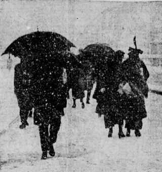 Weather - NYC snowstorm April1915