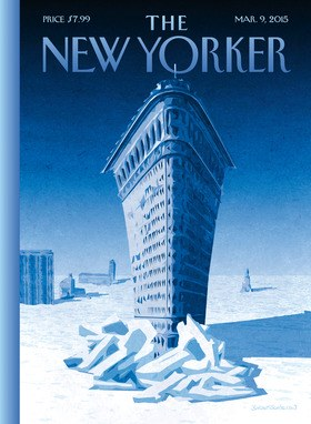New yorker - flat iron building - march 9 2015