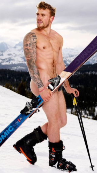 Espn body issue - gus kenworthy 2017