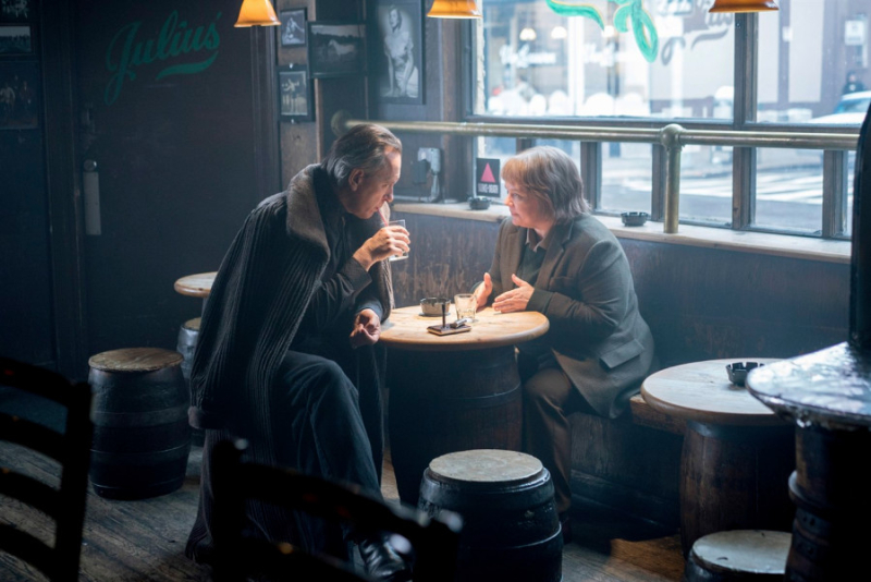 Julius bar in can you ever forgive me