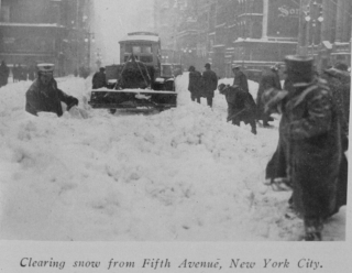 Snowstorm in 1926
