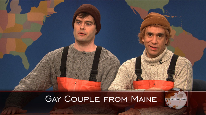 Gay fishermen from maine