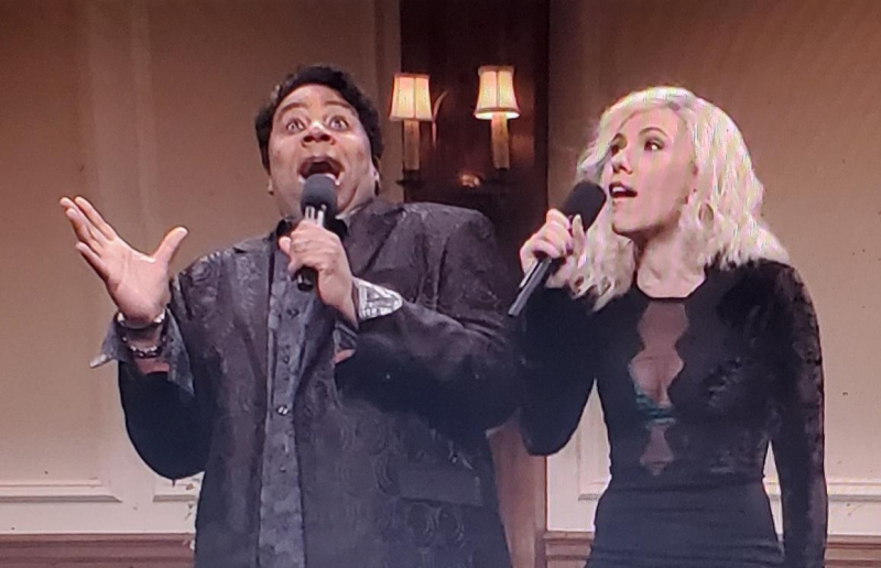 Keenan thompson and scarlett johnanssen