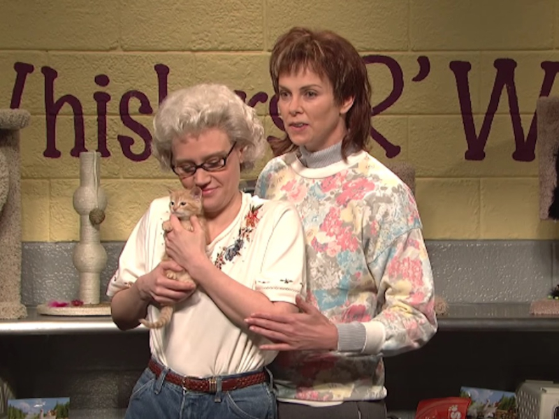 Whiskers r we snl with charlize theron