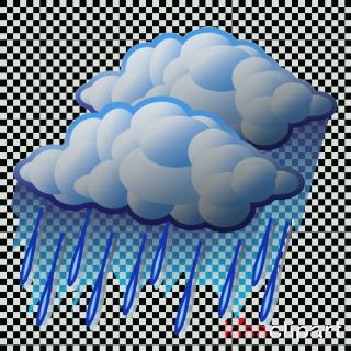 Clip art - rain cloud