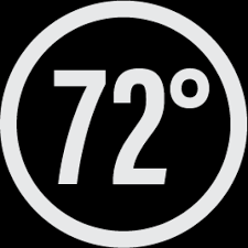 72 degrees