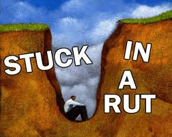Stuck in a rut
