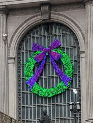 Dec 13 grand central wreath