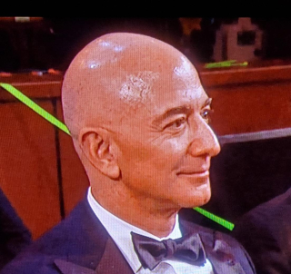 Jeff bezos at 2020 oscars