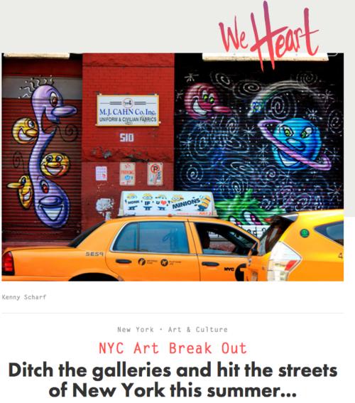 The street museum of art