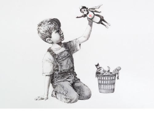 Banksy pandemic