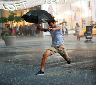 Summer downpour