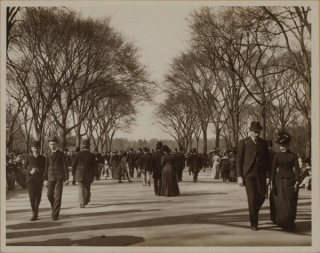Central park 1890s