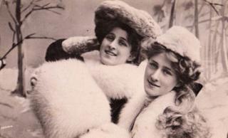 Winter during victorian era