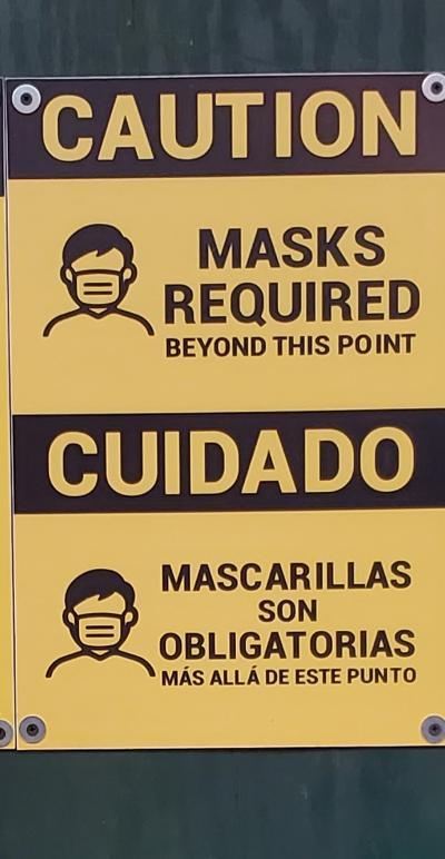 Caution cuidado