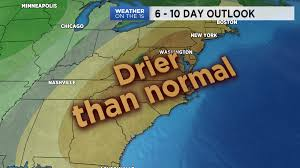 Drier than normal