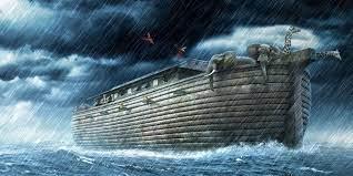 Noahs ark in water